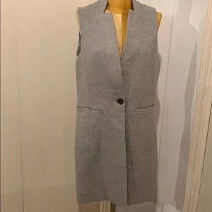 Wool gray vest